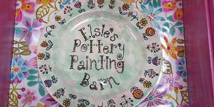 Elsie's Pottery Painting Barn, Market Harborough