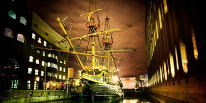 Golden Hinde, London