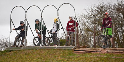 Herefordshire Board and Bike Park, Trentham