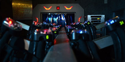 Laser Quest and the Rock, Manchester