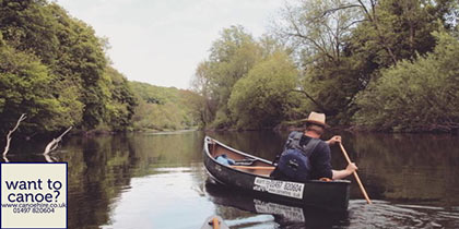 Want to Canoe, Hay-on-Wye