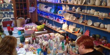 Blue Island Ceramic, Ynyslas