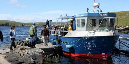 The Mousa Boat, Sandwick