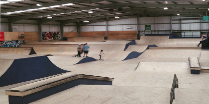 Factory Skate Park, Dundee