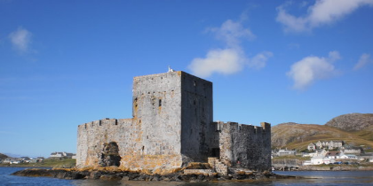 Kisimul Castle,Isle of Barra