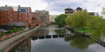 Kennet & Avon Canal, Reading