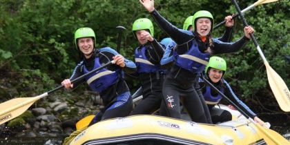Splash Rafting Aberfeldy