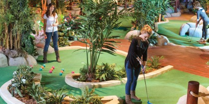 Treetop Adventure Golf Cardiff
