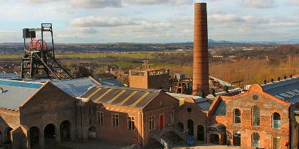 National Mining Musuem Midlothian