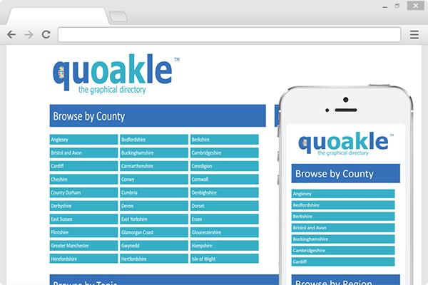 Quoakle Chrome Mockup