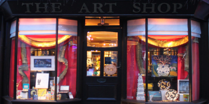 Art Shop And Gallery Photo