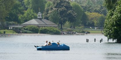 Boating On The Serpentine, Hyde Park