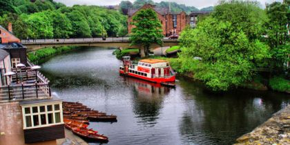 Browns Rowing Boats, Durham